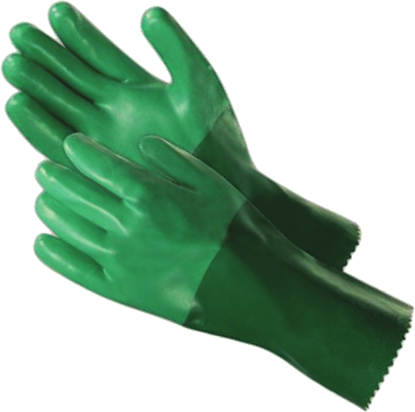Picture of G-500 - Green Neoprene Gloves, Size L (G500)